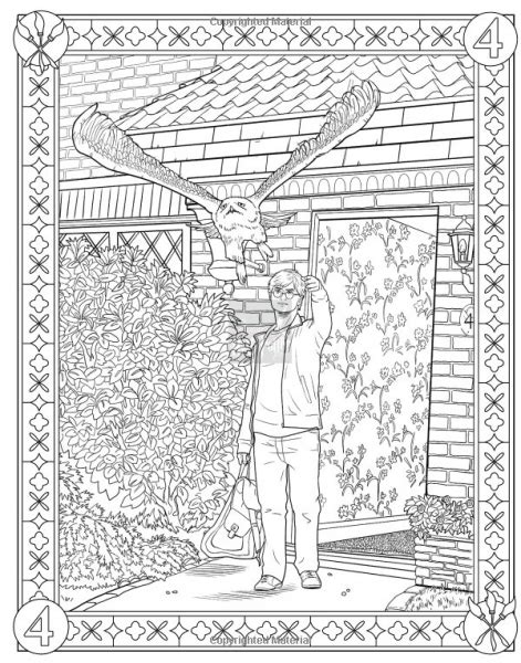 harry potter coloring book official photos harry potter official coloring book pages