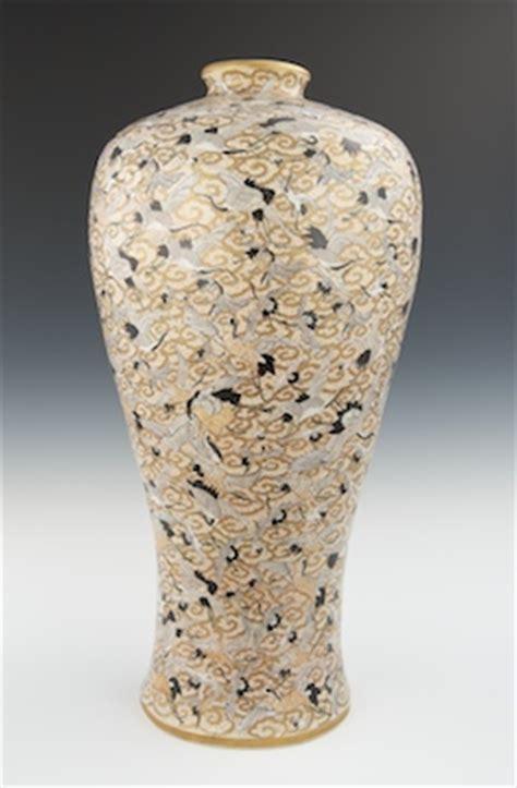 Thousand Cranes Vase by A Large Palace Size Thousand Crane Vase 01 27 11 Sold 1035
