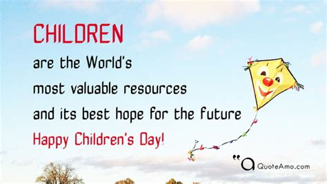 Children Happy Birthday Quotes Happy Children S Day Quotes And Sayings Quote Amo