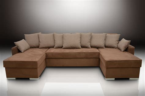 double chaise couch double chaise corner sofa bed group duke brown faux suede