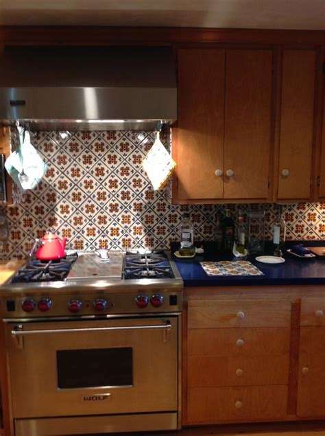 mexican tile backsplash kitchen i love my mexican tile backsplash but