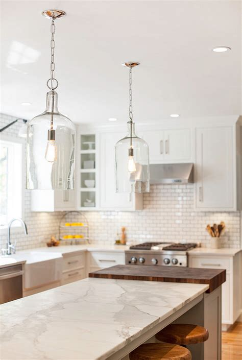 Kitchen Island Lights Fixtures Modern Farmhouse Kitchen Design Home Bunch Interior Design Ideas