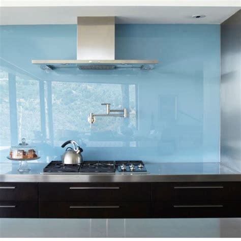 back painted glass kitchen backsplash move over tile 5 backsplashes made of sheet materials