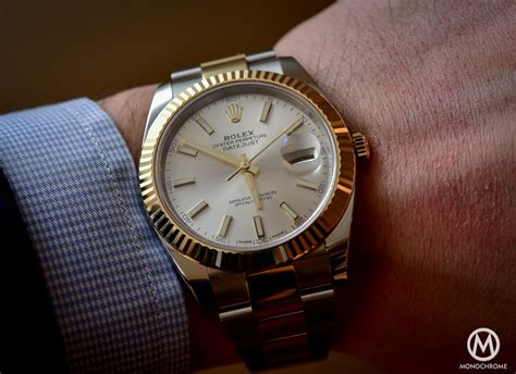 Rolex Essen Date Black Combi Gold review the new rolex datejust 41 from baselworld