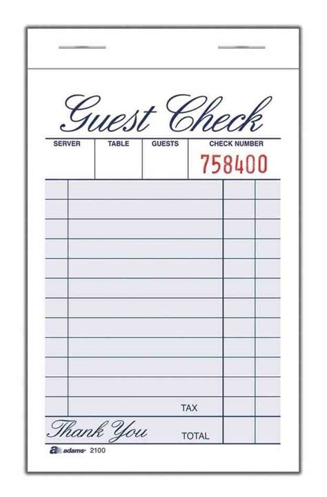 printable pad template restaurants waitress order pad template and waiters can