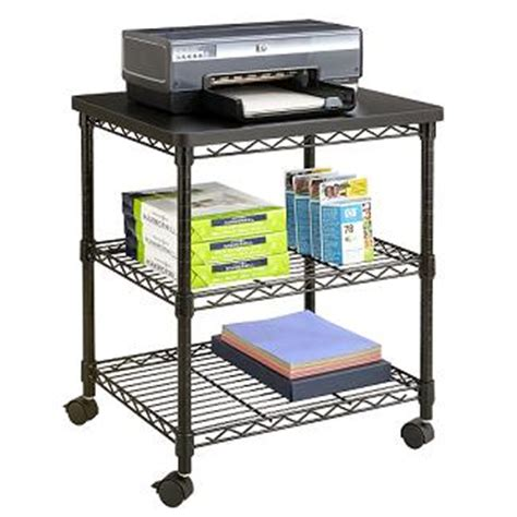 desk side printer stand portable printer stand desk side office machine stand