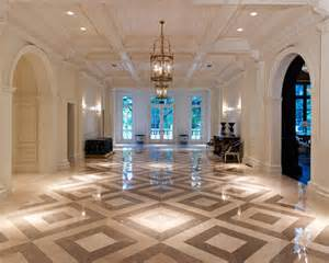 Example of an expansive classic hallway design in dallas with white