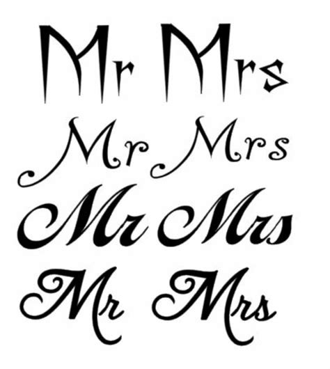 Mr Lettering by Details About Mr And Mrs Vinyl Decal Sticker For Wine