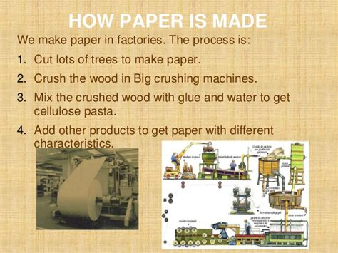 How To Make Paper From Wood - history of paper