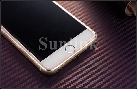 Tempered Glass Alumunium Metal 3d Iphone 7 7 Plus Curved Murah 3d curved aluminum alloy tempered glass phone for