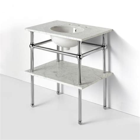 Metal Leg Bathroom Vanity Betty Lou Phillips Aka The Quot Blp Quot Metal Four Leg Single Washstand 28 Quot X 20 Quot X 32 Quot Waterworks