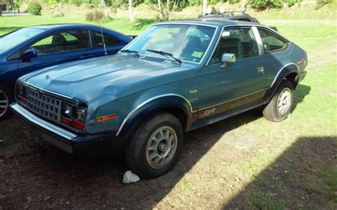 jeep eagle sx4 amc eagle sx4 4x4 2 door hatchback 4 cylinder 5 speed jeep
