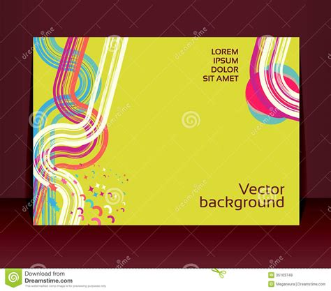 Flyer Leaflet Booklet Layout Editable Design Te Royalty Free Stock Images Image 35103749 Free Editable Flyer Templates