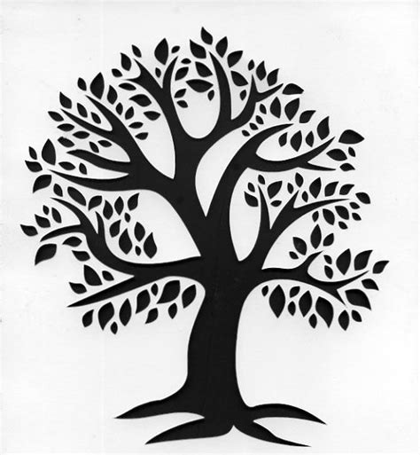 93 Best Stencils Images On Pinterest Witch Craft Celtic Knots And Coloring Pages Tree Stencil Template