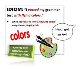 with flying colors idiom pass with flying colors all things topics