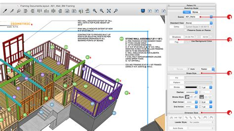 sketchup  film stage sketchup technical theater