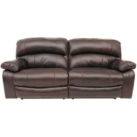 leather settee sofa damacio leather reclining sofa 0s0 982rs ashley