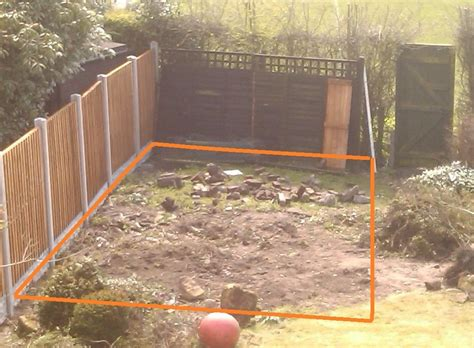 summer house base 20ft by 12ft groundwork amp foundations