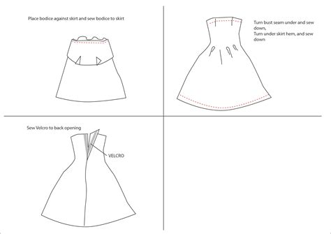 dress a doll template 8 best images of clothes patterns free printable