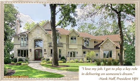oak brook custom homes oak brook luxury homes hjh