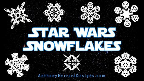 wars snowflakes templates new the awakens wars snowflake templates