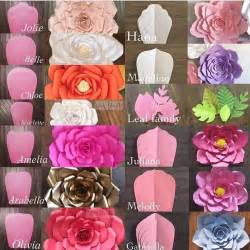 Flower Templates For Paper Flowers by 25 Best Ideas About Paper Flower Templates On