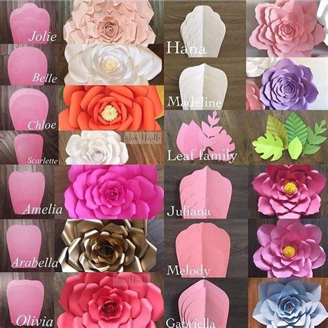 25 best ideas about paper flower templates on pinterest