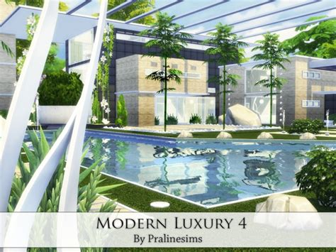 Sims 4 Modern Luxury 4 house