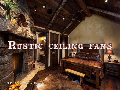 log cabin ceiling fans rustic ceiling fans with light charlie collection 1light