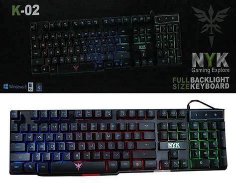 Keyboard Nyk keyboard gaming nyk k 02 terabit komputer