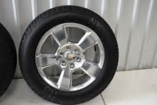 Chevy Truck 20 Inch Wheels Chevy 20 Inch Wheels Oem Factory Wheels Rims Ford