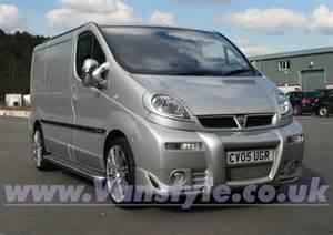 Vauxhall Vivaro Sportive Accessories Trax Hd Sportstep Sidebar Vivaro Trafic Primastar Vanstyle