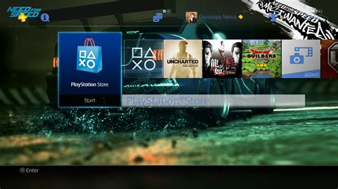 ps4 themes cars ps4 gets two free or almost need for speed themes