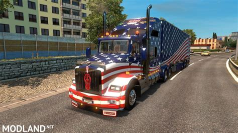 mega truck kenworth peterbilt mega truck pack mod for ets 2