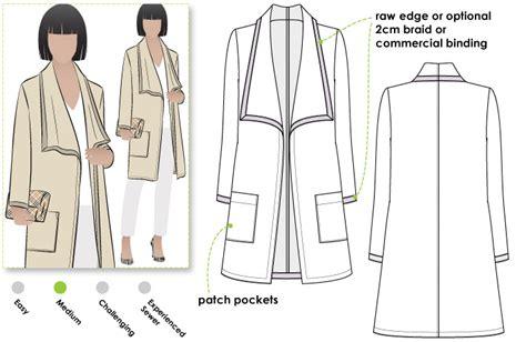 pattern review style arc stylearc mason knit jacket