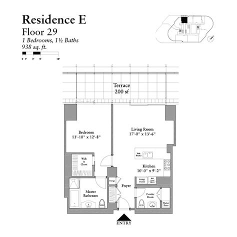 trump chicago floor plans trump tower chicago 1 bedroom floor plans