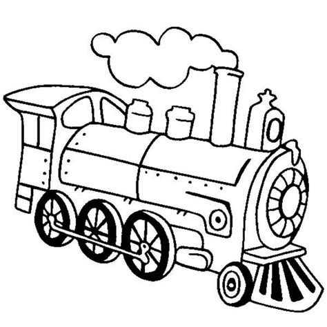 free coloring pages of drawing den train
