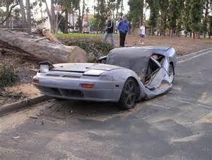 1600 Sf To Sm Damn Cool Cars Tree Over A Nice Car