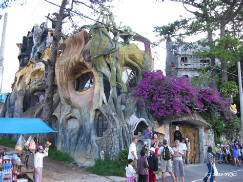 Crazy House In Da Lat Vietnam