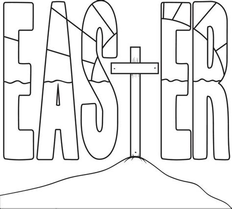 easter cross template printable complex cross coloring sheets printable coloring pages