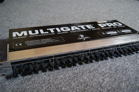 Multi Gate behringer multigate pro xr4400 image 386081 audiofanzine
