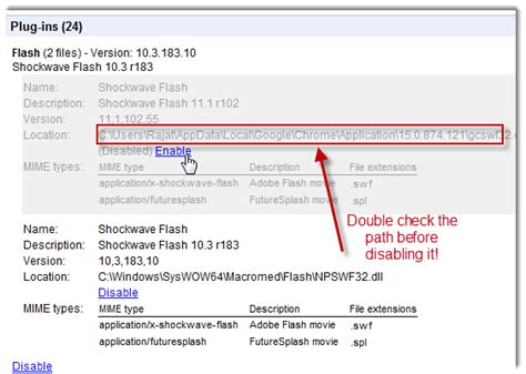 check flash version chrome how to solve the conflict between chrome and adobe shockwave flash player technotravel
