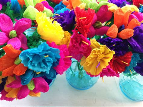 How To Make A Mexican Flower Out Of Tissue Paper - such pretty things pretty mexican