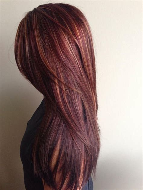 pink highlights hair older women 17 best ideas about chocolate red hair on pinterest