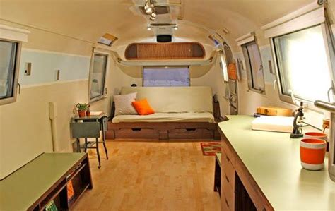 Remodeled Airstream Interiors by Our 1968 Airstream Remodel We Design And Build Custom