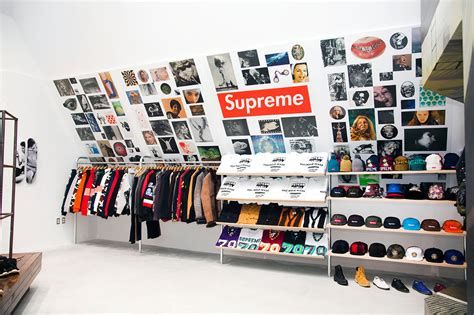 suprem store supreme store to open in sneakers addict