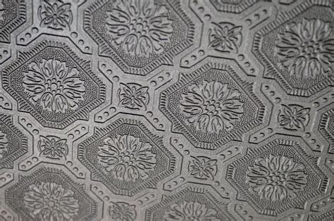 quot my old country home faux tin tile ceiling reveal