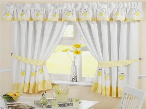 Blue And Yellow Kitchen Curtains Kitchen Yellow Kitchen Curtains Decorating Ideas Kitchen Curtains Yellow Curtains Blue And