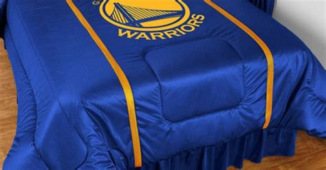golden state warriors bedding show off your warriors pride with this team logo bedding