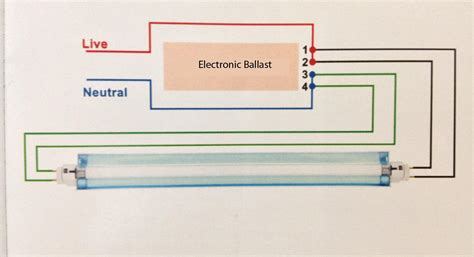 electronic ballast wiring diagram gooddy org